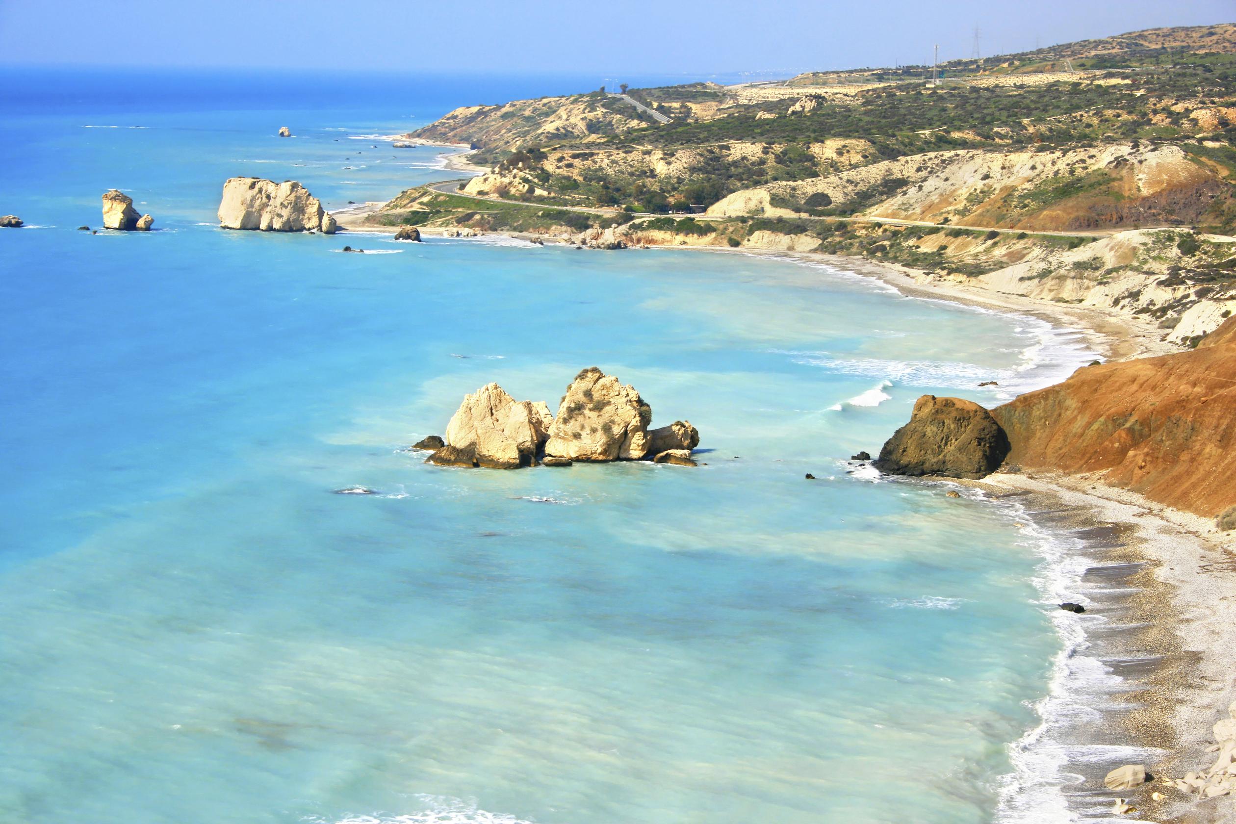 Пляжи пафоса фото и отзывы